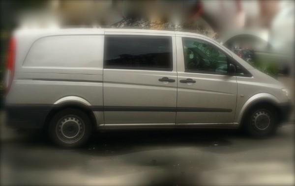 Überwachungsfahrzeug für Detektei