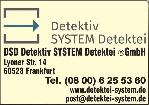 Detektiv SYSTEM Detektei®