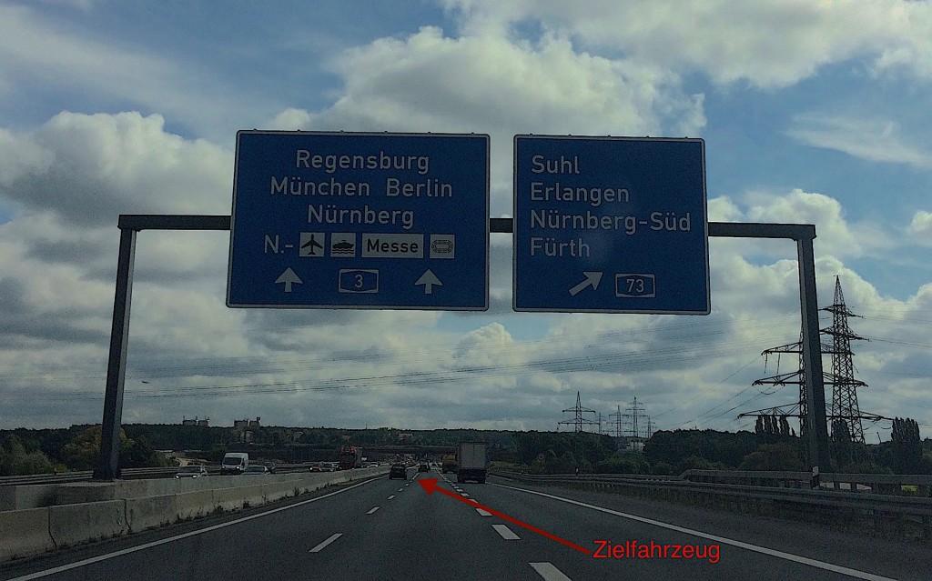 Einsatzwagen der Detektiv SYSTEM Detektei® observieren in Nürnberg
