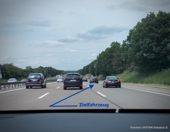 Detektiv SYSTEM Detektei ® observiert auf der Autobahn