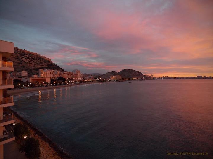 Privatdetektiv in Alicante im Observationsdienst