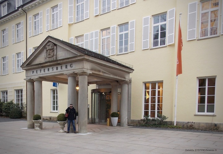 Sicherheitsexperten in Bonn einsetzen