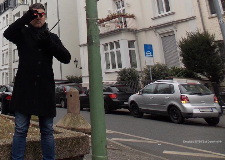 Privatermittler observiert in Gießen