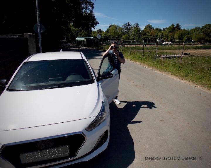 Privatdetektiv in Bad Schwartau in der Beobachtung