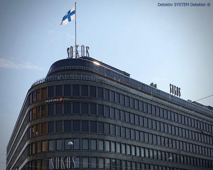 Detektiv SYSTEM Detektei ® in Helsinki einsetzen