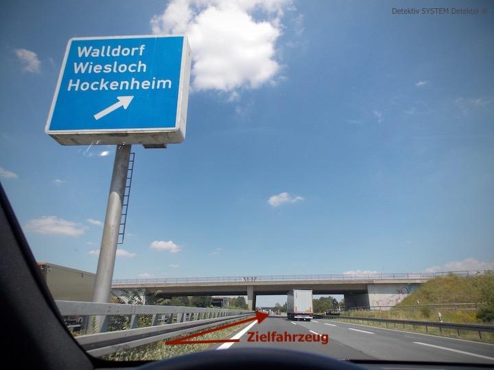 Beobachtung der Detektive in Walldorf Baden