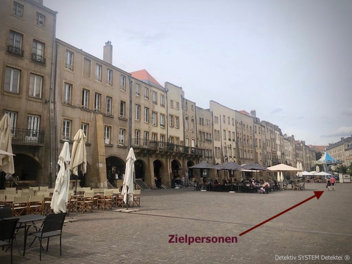 Privatdetektei im französischen Metz in der Überwachung