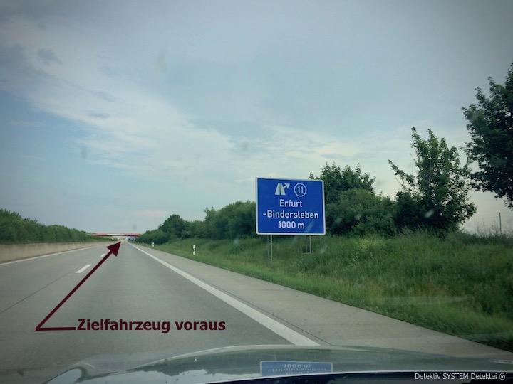 Privatdetektei beobachtet im Raum Weimar Erfurt