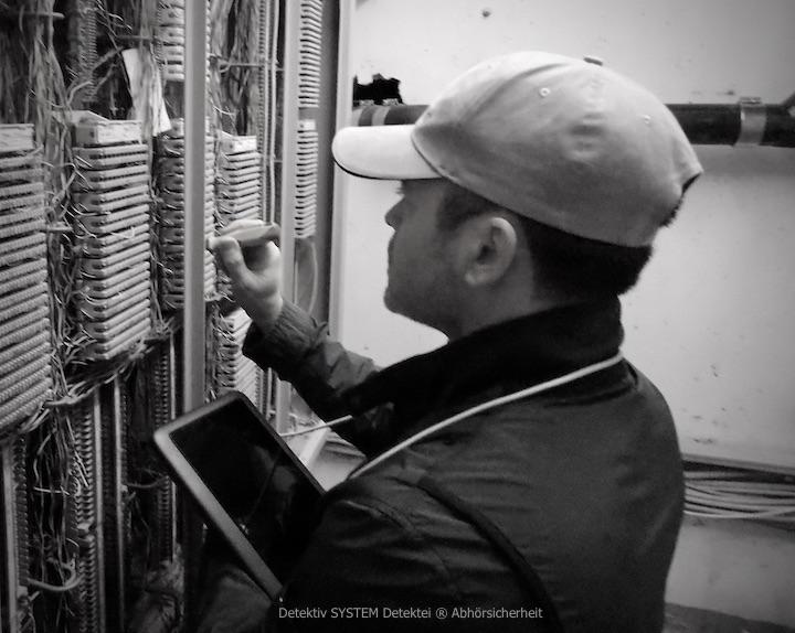 Überprüfung Telefonanlage Lauschabwehr