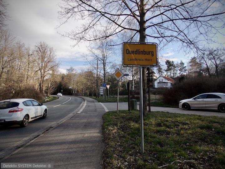 Detektiv SYSTEM Detektei ® ermittelt in Quedlinburg