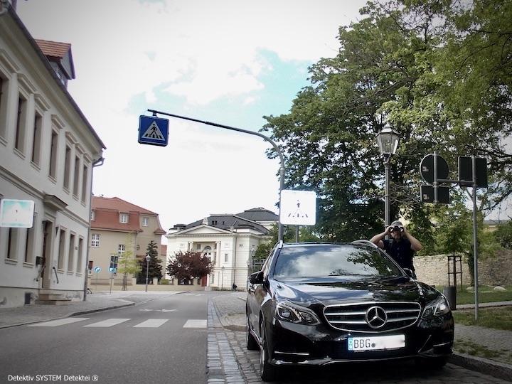 Privatdetektiv beschattet Zielperson im Salzlandkreis