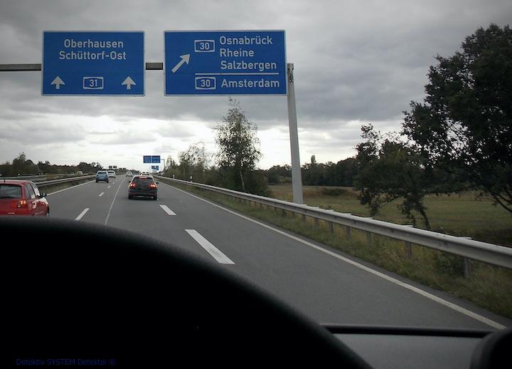 Detektiv SYSTEM Detektei ® fährt in die Niederlande