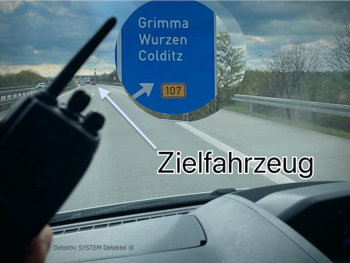 Detektive observieren in Grimma