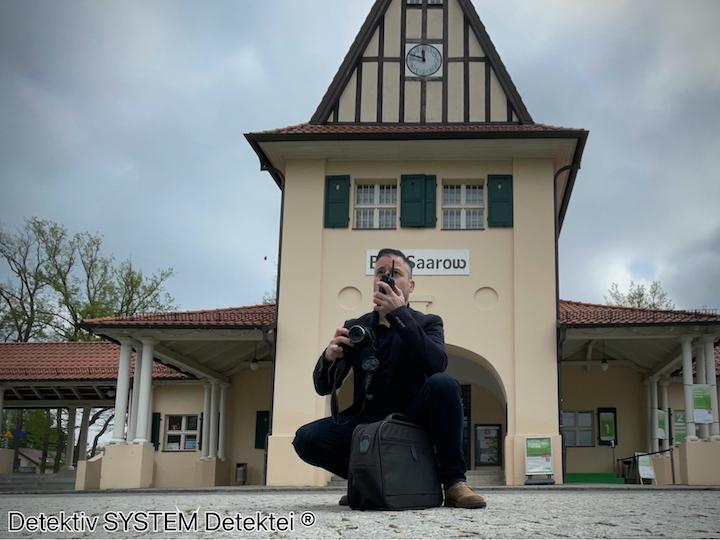 Privatdetektiv in Bad Saarow in Aktion