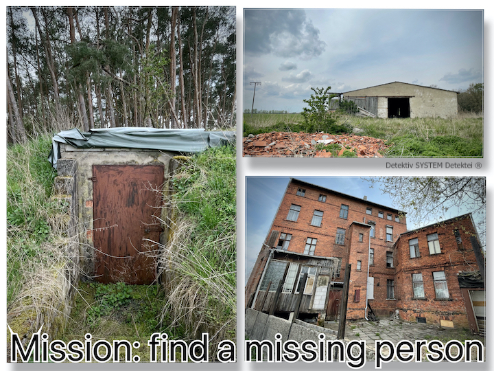 find a missing people
