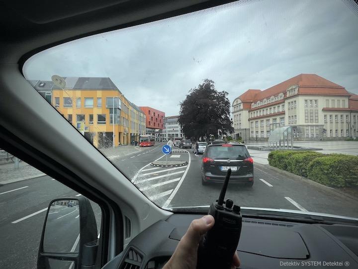 Wirtschaftsdetektive beobachten in Bautzen