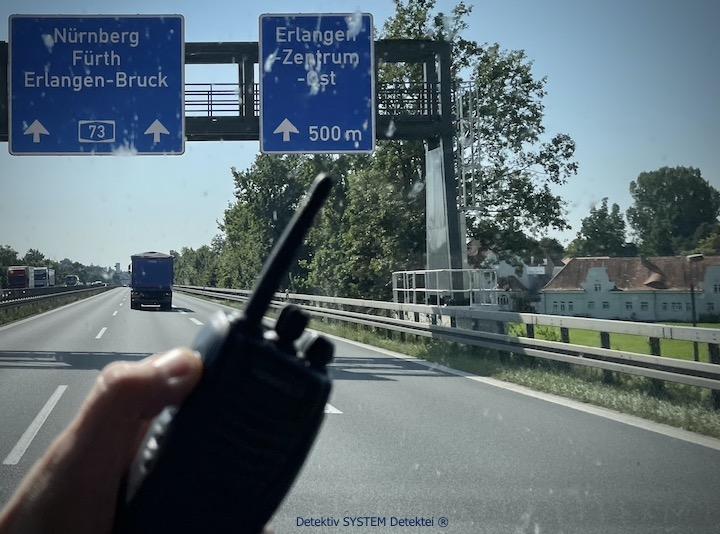Privatdetektei in Erlangen im Dienst