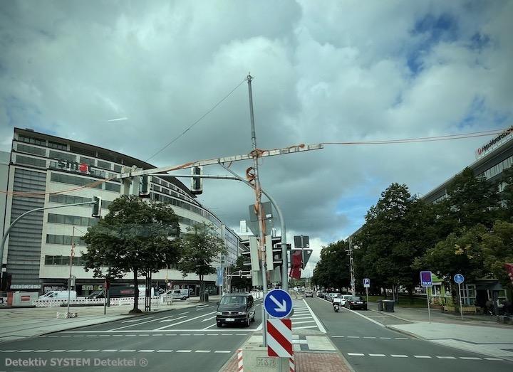 Beobachtung der Detektive in Chemnitz